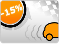 -15% sur les locations auto de derni�re minute